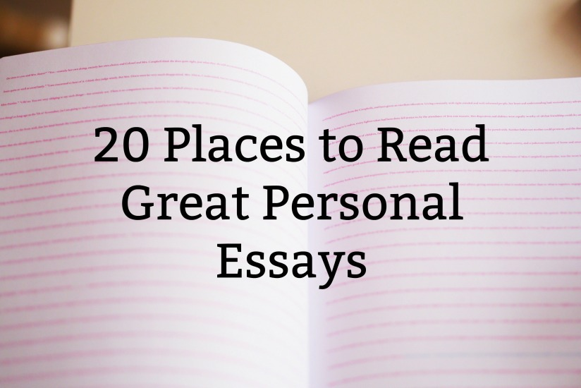 Ruth Dawkins 20 Places to Read Great Personal Essays