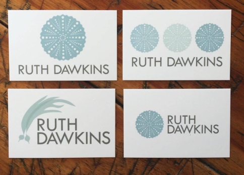 Ruth Dawkins business cards by Moo