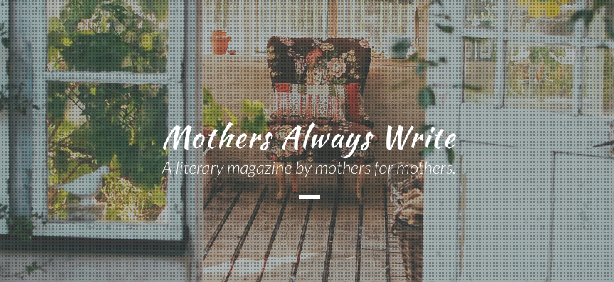 Mothers Always Write front page image