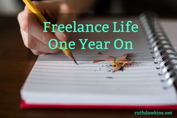 Ruth Dawkins blog post: Freelance Life One Year On